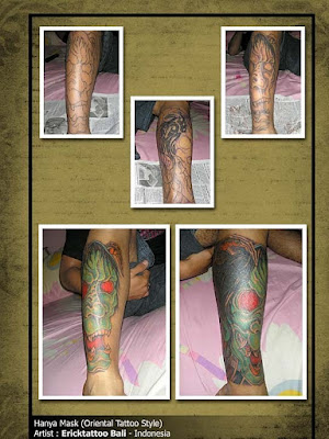 Hanya Mask - Erick Tattoo Bali