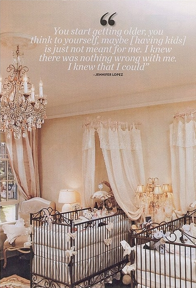 Beautiful Nurseries a nursery fit for a little prince and princess. | glamorous
