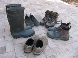 Farmer Fred Rants: They are called gardening shoes…NOT garden shoes