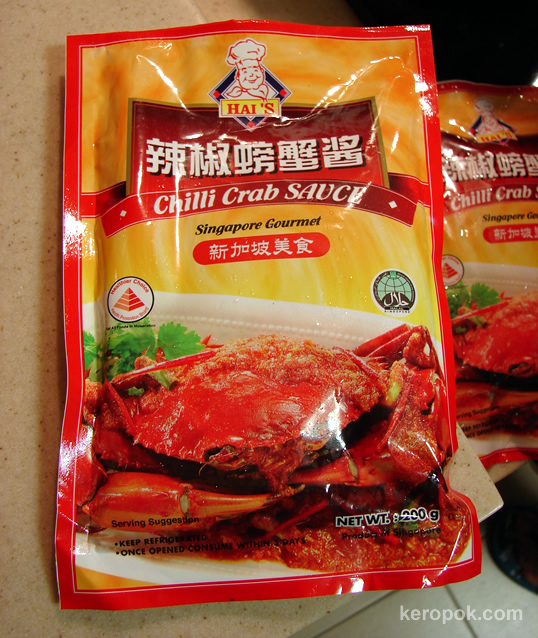 ... Makan: How to cook your own chilli crabs at home... It's easy. Really