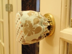 Chic Bebe Couture: Make Your Plastic Door Knob Covers Pretty with ...