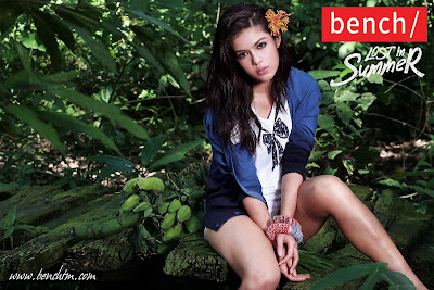 Shaina Magdayao on Bench's 'Lost in Summer Ad' Campaign