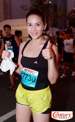 Rhian Ramos at Century Tuna Super Bods Run