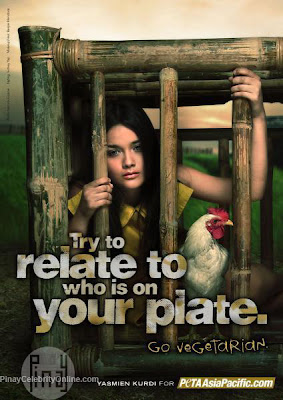 Yasmien Kurdi on PETA 2