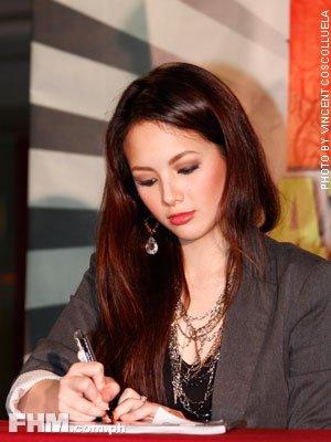 Ellen Adarna FHM Autograph Signing last December