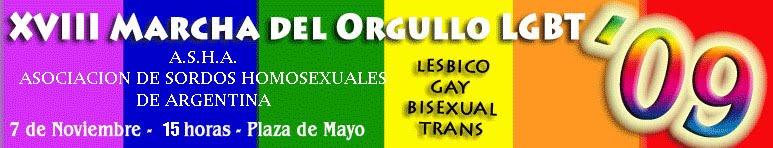 XVIII Marcha del orgullo gay