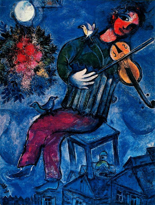 Marc Chagall, «O Violinista Azul»