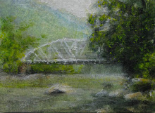 The Old Bridge on the New River
