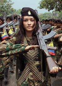 Guerrilheira das FARC