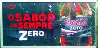 Coca sabor zero