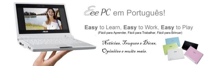 Asus EEE PC em Português