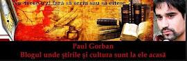 PAUL GORBAN - Blogul de cultura si informare