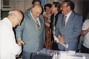 KKTC 1. Cumhurbaşkanı Rauf Denktaş ile Sergide