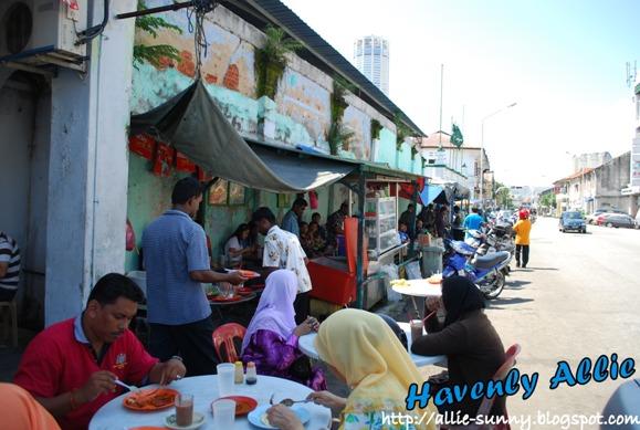 Transfer Road Roti Canai Stall 1