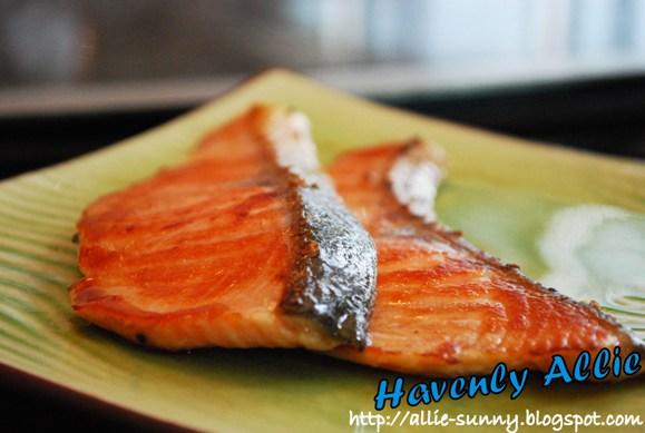 Salmon Tepanyaki