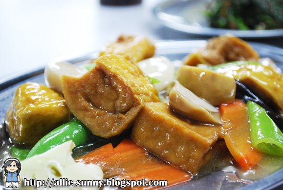 Tofu with mix vegetables 2