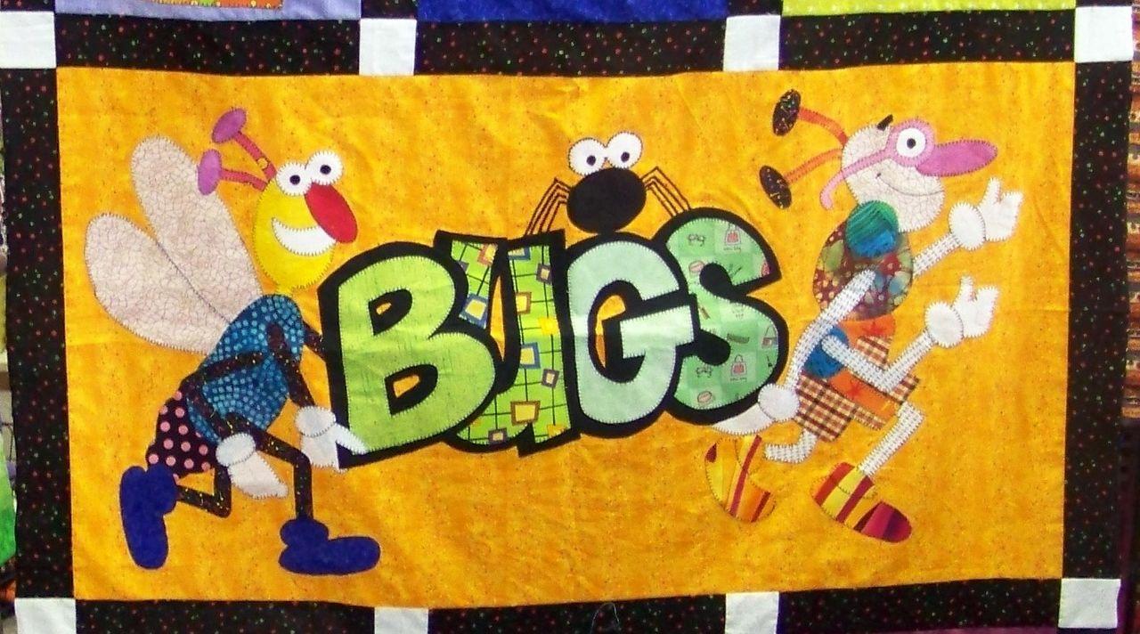 Attic Window Quilt Shop: THE BEE HAS BUGS : bug quilt - Adamdwight.com