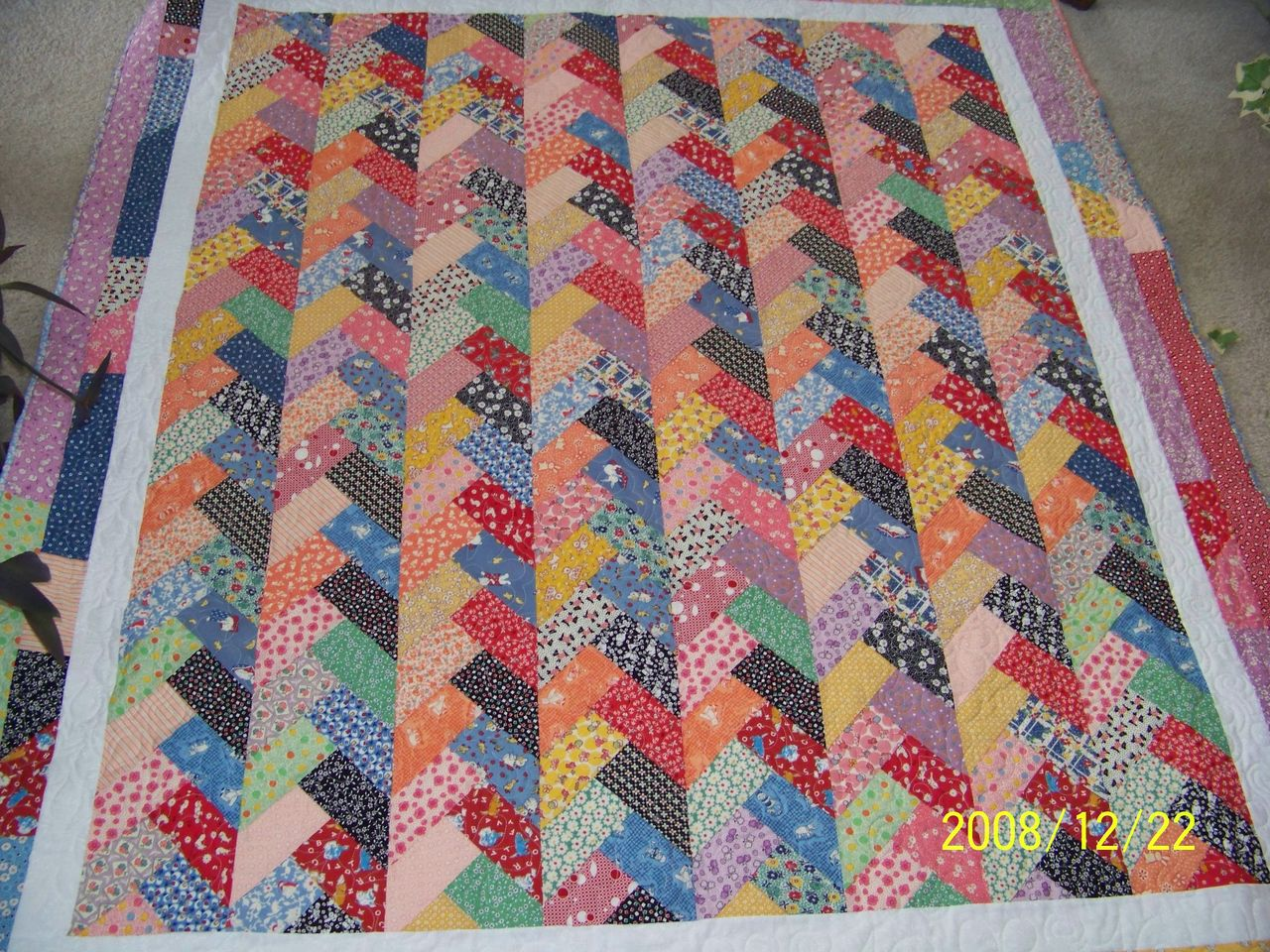 Attic Window Quilt Shop: ARE YOU READY FOR CHRISTMAS? : french braid quilt free pattern - Adamdwight.com