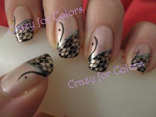 nail-art-rosa-nero