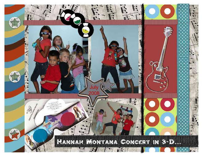 Rockin to HANNAH MONTANA!!!