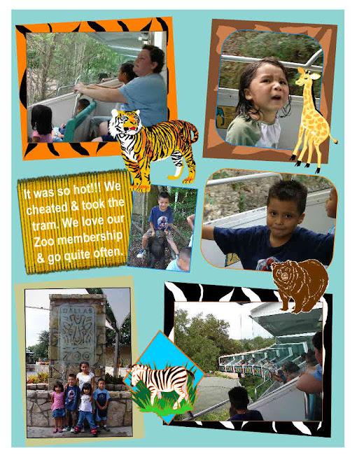 Dallas Zoo October, IT WAS HOT!