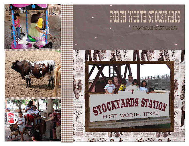 One of our family trips to the Stockyards of Fort Worth.