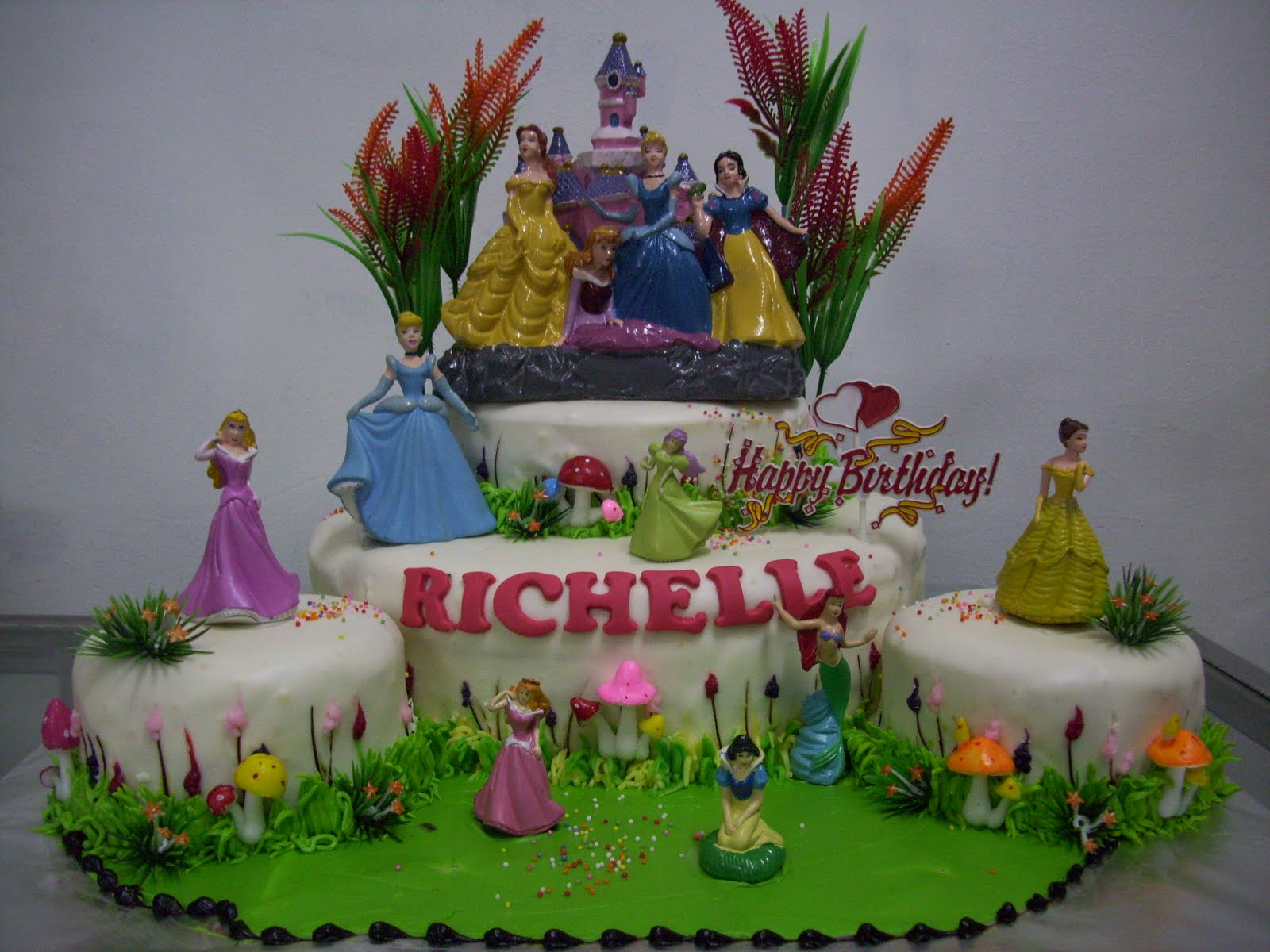 princess untuk kue ultah richelle