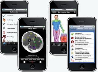 Applications médicales sur l'iPhone