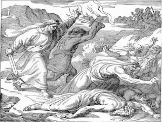 ... dijo: «Apresad a los profetas de Baal para que no escape ninguno