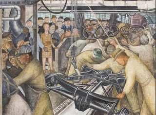 Tamerlane 39 s thoughts diego rivera 39 s detroit ford murals for Diego rivera ford mural