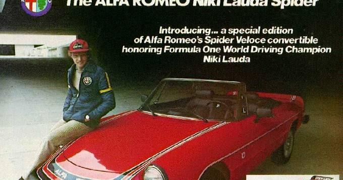 Tamerlane's Thoughts: 1978 Alfa Romeo Spyder Niki Lauda ...