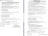 9.Sınıf Türk Edebiyatı 1.Dönem 1.Yazılı Soruları ve Cevapları
