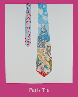 Paris Tie by Eloise O'Hare