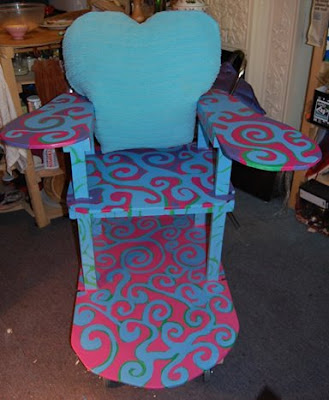 Surf Chair by Eloise O'Hare