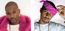 Cam'ron and Juelz Santana