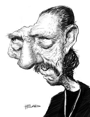 caricatura danny trejo