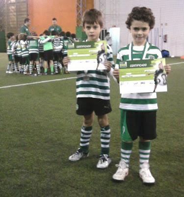 Pedro Santos e Tomás Peneque