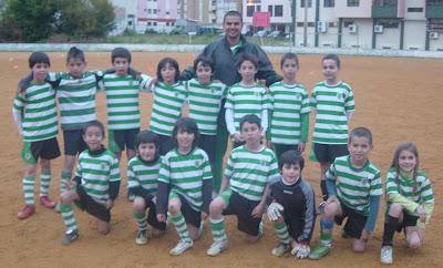 Escolas C frente ao Vitória FC