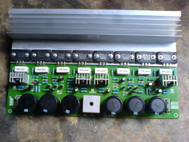 PCB untuk PA OCL 200W dan PA OCL 300W