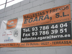 BALLESTAS Y FRENOS EGARA