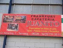 FRANKFURT CAFETERÍA JUANITO