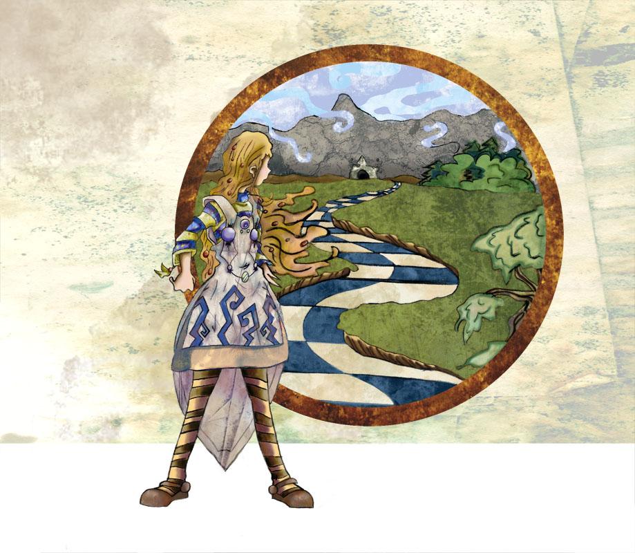Alice au pays des merveilles FanArts. Alice_in_Wonderland__Coverbook_by_Azalane
