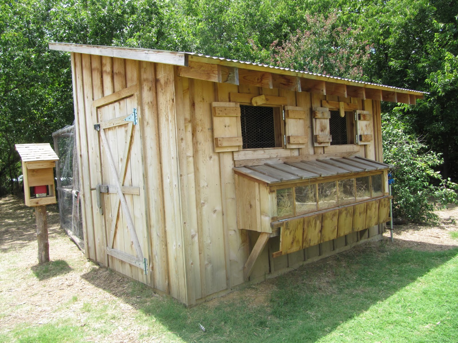 Savor the days an afternoon in grapevine for Old farm chicken coops