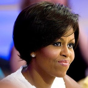 Michelle Obama Short Hairstyle