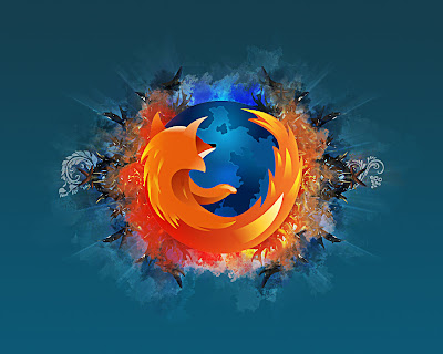 Vector firefox wallpaper