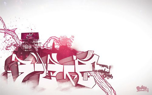 3d digital graffiti