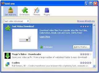 fast video download Add-ons