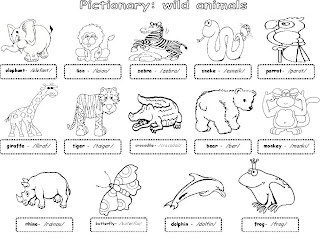 Labels: animals , pictionary , trinity level 1