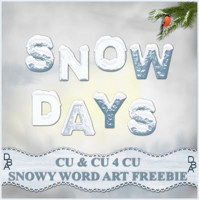 http://designsbyali.blogspot.com/2009/11/snowy-word-art-freebie-cu-cu-4-cu.html