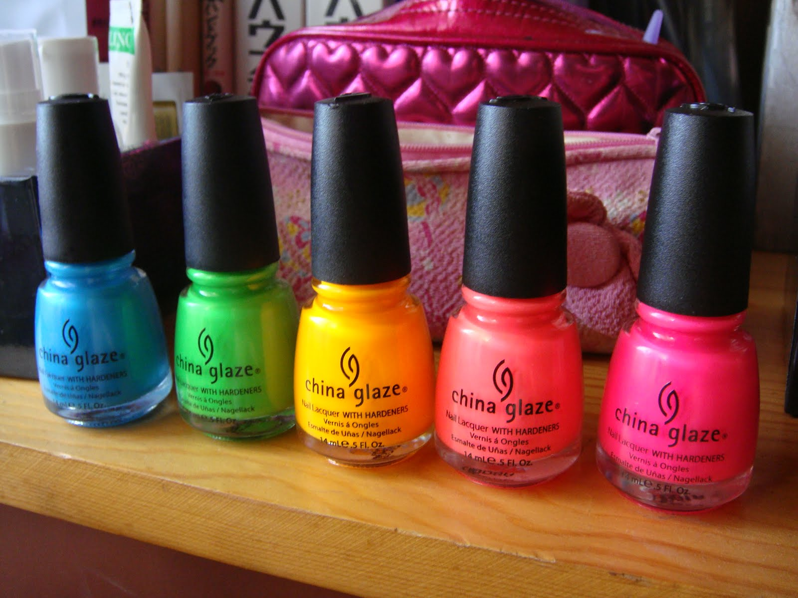 I like makeup \\(*^__^*)/: nail polish haul: China Glaze - Poolside ...